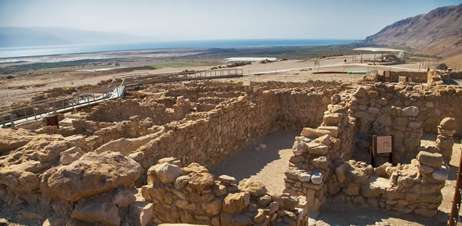 Travel to Israel visit Qumran where the Dead Sea Scrolls were Discovered