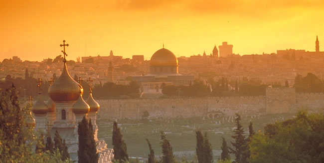 Traveling to Jerusalem the Holy City for Christians Gives Great Meaning