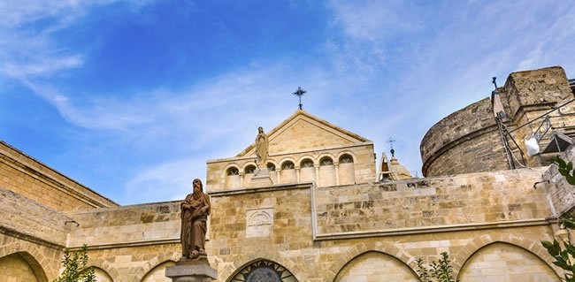 The Church of Saint Catherine in Bethlehem