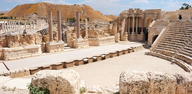 Beit She'an sure to impress during your trip to the Holy Land